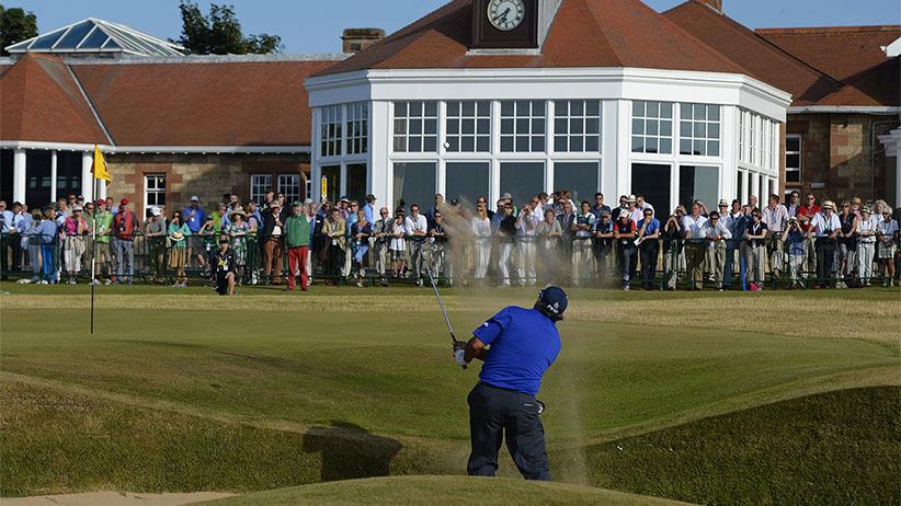 2013년 7월, 영국 스코틀랜드 뮤어필드 골프클럽에서 열린 브리티시오픈 골프대회. [로이터=뉴스1]