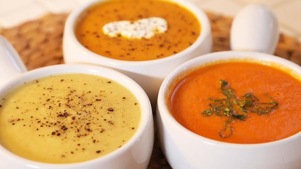 요리법만 바꿔도 훌륭한 다이어트식이 된다는 걸 보여주는 수프.