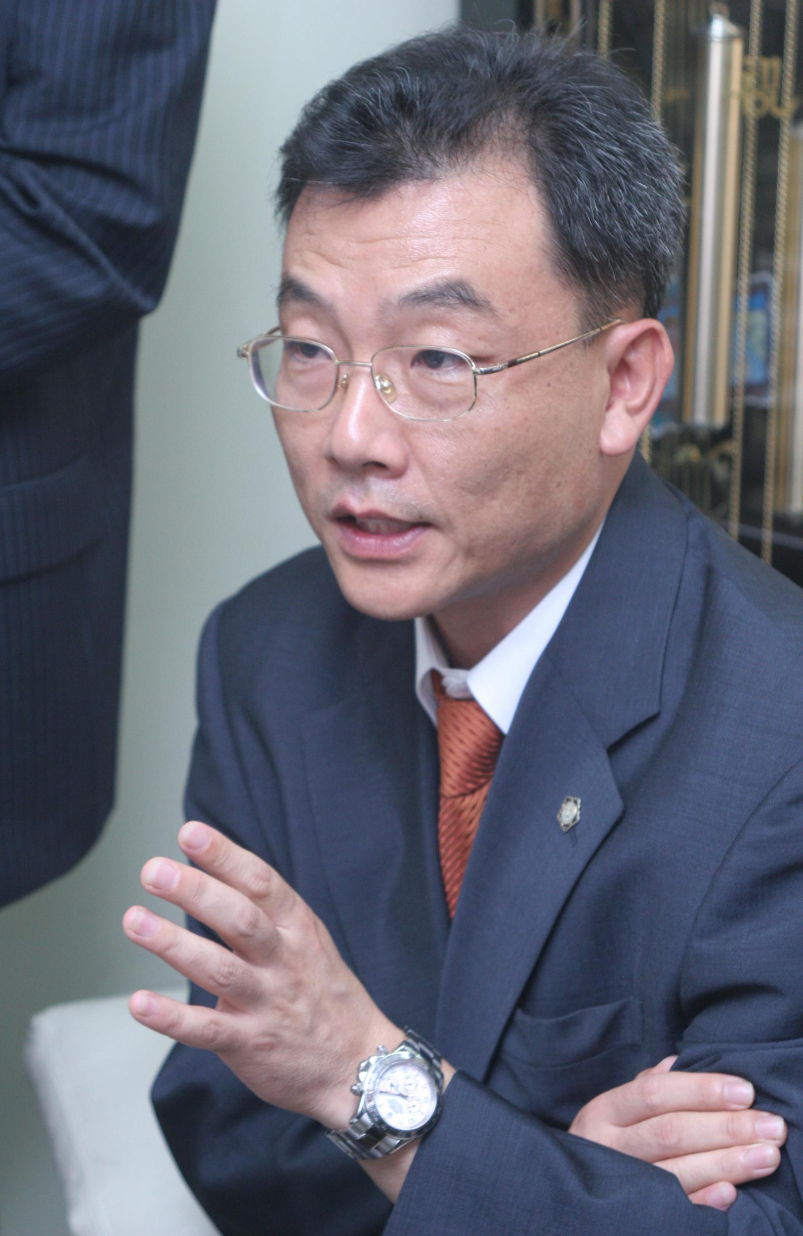 대통령 측 서성건(57) 변호사.  [사진제공=신원주 인턴기자]