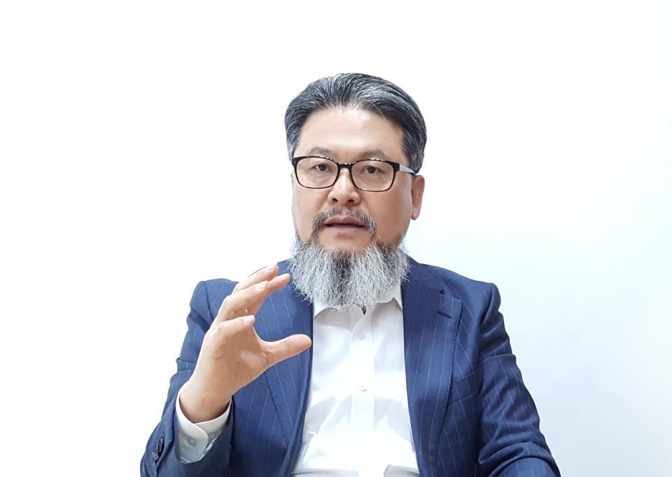 관상ㆍ풍수 전문가인 백재권 한국미래예측연구원장 [사진 백재권]