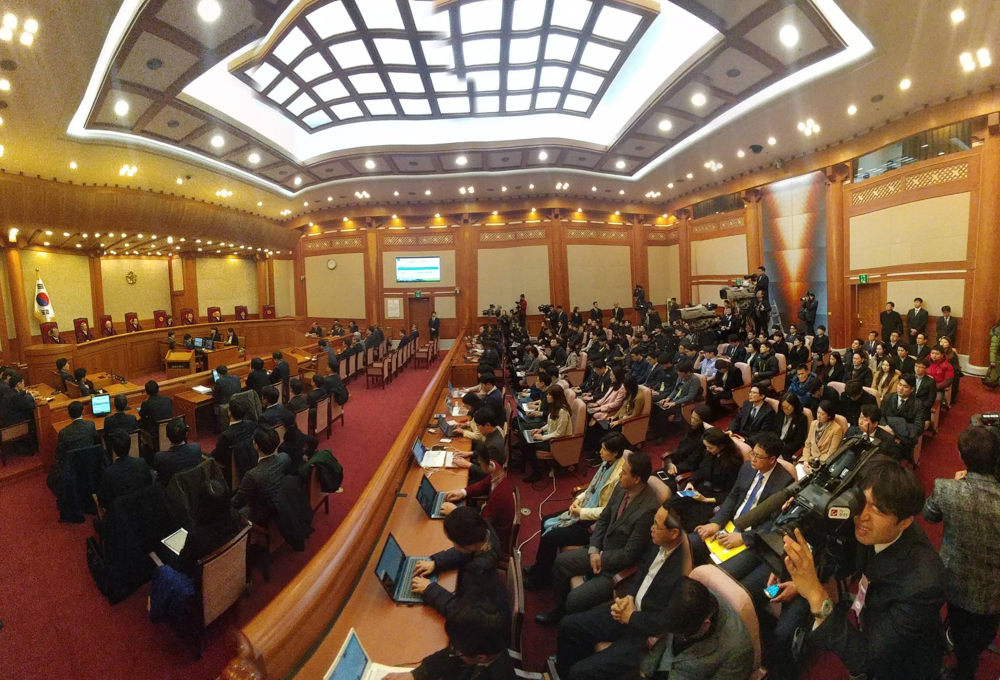 10일 헌법재판소. [사진 중앙포토]