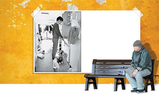 초고령화 사회인 일본에선 늙어 가는 형제를 부양해야 하는 부담이 사회문제로 대두되고 있다. 돈·직업·배우자가 모두 있거나 세 가지 모두 없는 형제간의 격차가 원인이다. [사진 지지통신]