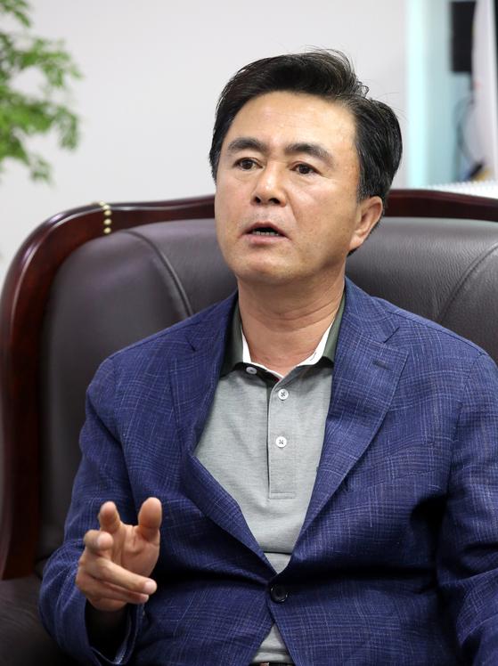 자유한국당 김태흠 의원 [중앙포토]