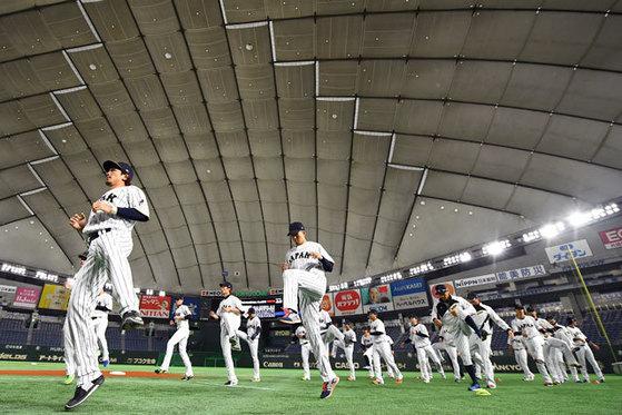 [일본 국가대표 야구팀 공식 홈페이지]
