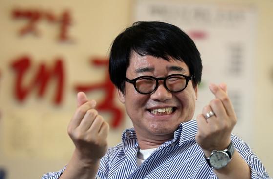 '나는 봉이야' 최양락. [중앙포토]