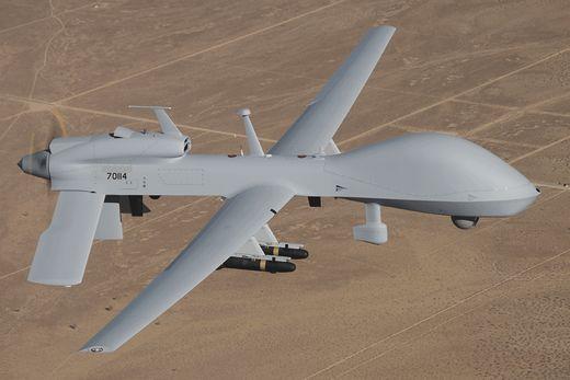 주한미군에 배치될 무인 항공기(UAS) 그레이 이글(MQ-1). [사진 제너럴 애토믹스]