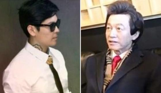 가수 서사장과허경영 전 민주공화당 총재가 신곡 '좋은 세상'을 발표에 앞서 티저 영상을 공개했다. [사진 유튜브 캡처]