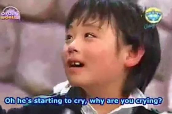2007년 초등학교 1학년 당시 방송에 출연한 박지훈 [사진 유튜브 영상 캡처(채널:Aethelmaer Agle)]