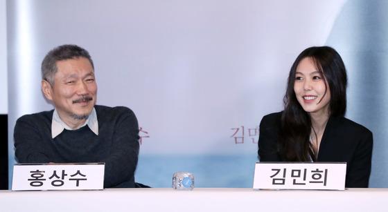 [포토] 홍상수-김민희 '후련합니다'