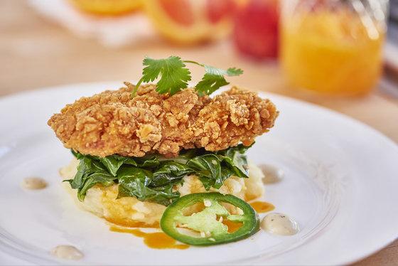 닭의 자가번식 세포로 치킨 조각을 만드는 법이 개발됐다.[사진 멤피스 미트]