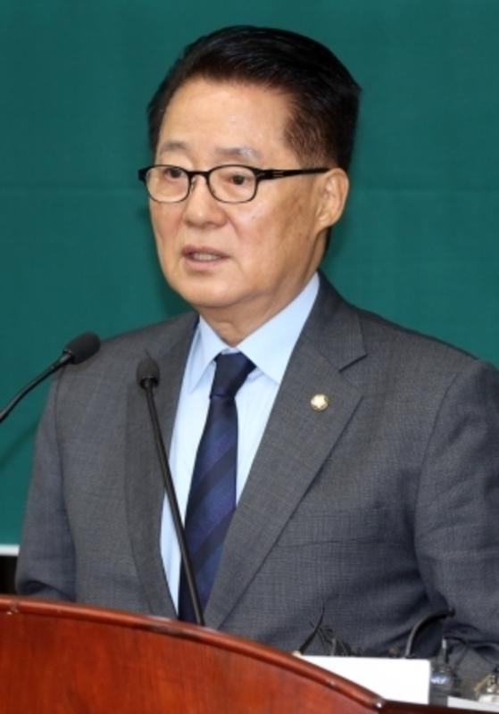박지원 국민의당 대표. 강정현 기자