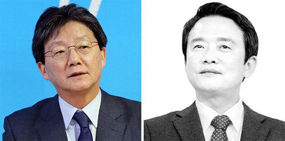 유승민(左), 남경필(右)