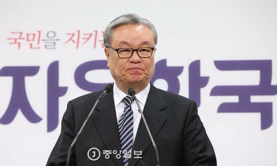 인명진 자유한국당 비상대책위원장.
