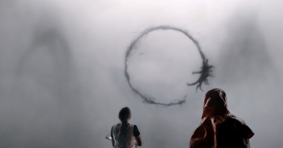 영화 '컨택트'의 한 장면.