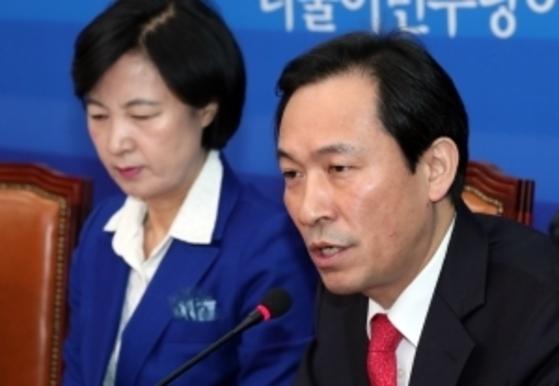 우상호 더불어민주당 원내대표. 전민규 기자