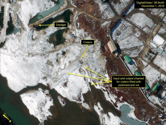 평안북도 영변 핵 단지의 위성사진 [사진 38노스 캡처]