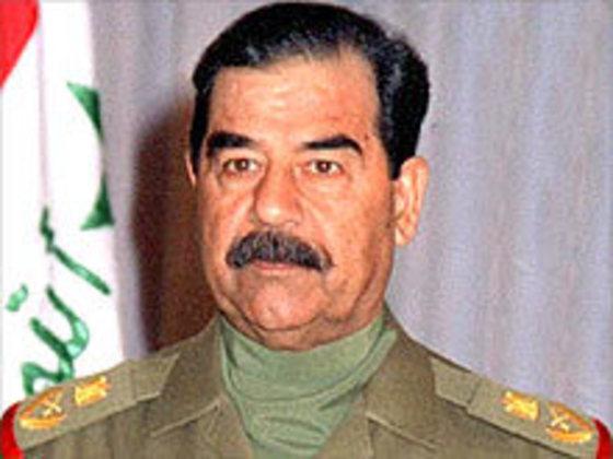 사담 후세인 전 이라크 대통령