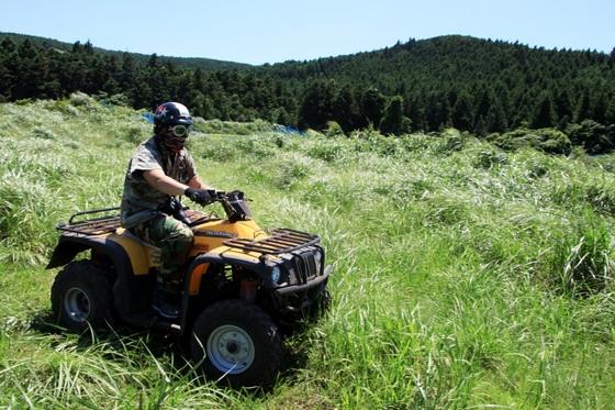 ATV를 무면허로 운전하다 다치면 건보 진료비 혜택을 받을 수 없다. [중앙포토]