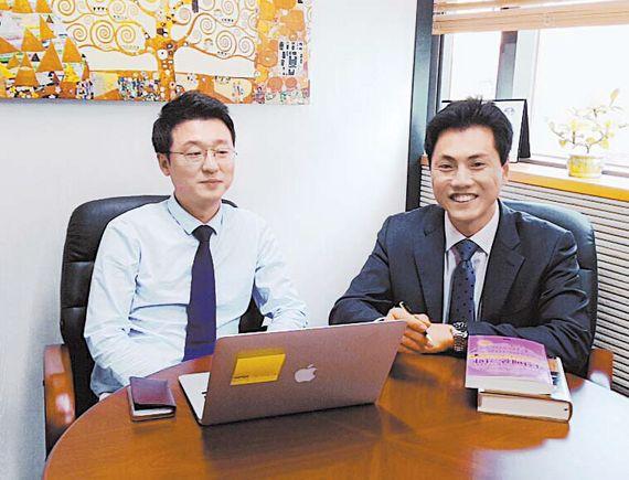 재정·자산관리자문 전문회사인 로드스타자문은 합리적이고 윤리적인 포트폴리오를 제공하는 것이 강점이다. 로드스타자문의 김준성 대표(왼쪽)와 구본석 대표.
