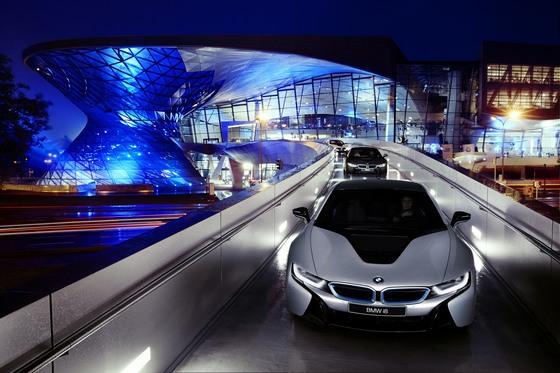 BMW의 전기차 i8 [중앙포토]