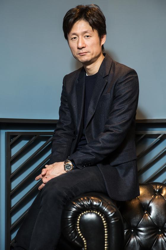 화제의 일본 영화 '분노'를 연출한 재일동포 3세이상일 감독. [사진 라희찬(STUDIO 706)]
