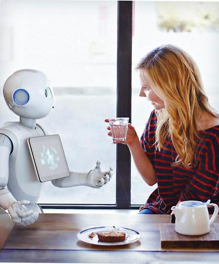 2015년 6월 일본 소프트뱅크가 발표한 인간형 로봇 페퍼는 가정용 다용도 로봇 시대의 개막을 상징하는 제품이다. IBM의 왓슨을 기반으로 한 인공지능을 탑재해 대화가 가능하다.