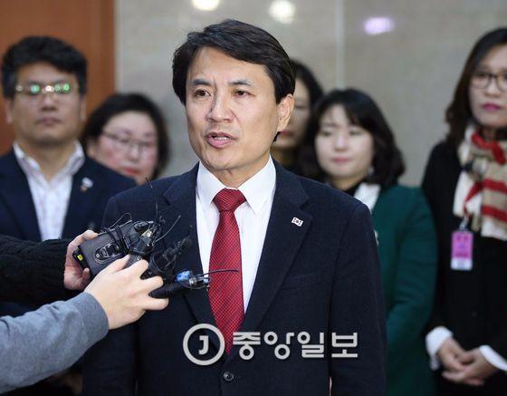 김진태 자유한국당 의원 [중앙포토]