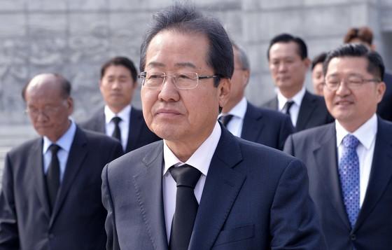 홍준표 자유한국당 대선경선 후보. [사진 중앙포토]