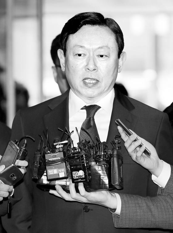 신동빈 롯데그룹 회장. [중앙포토]