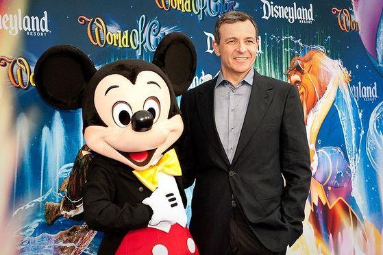 월트 디즈니의 밥 아이거 CEO.[사진제공=wikipedia]