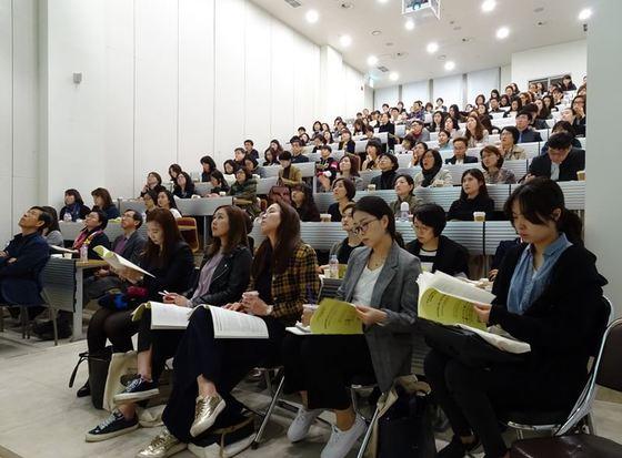 ▲ 사이버한국외대 TESOL대학원 '2017 연구방법론 워크숍 현장'