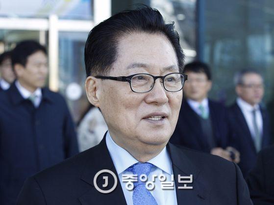 박지원 국민의당 대표 [중앙포토]
