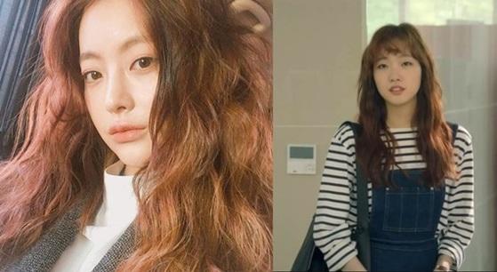 영화 '치즈인더트랩' 주인공 오연서(왼쪽)와 드라마 '치즈인더트랩' 주인공 김고은(오른쪽) [사진 오연서 인스타그램, tvN 캡처]