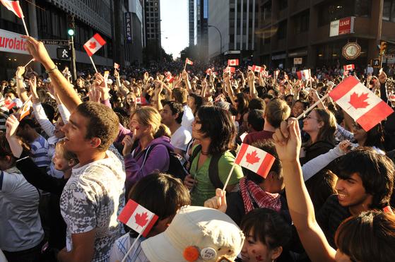 올해는 캐나다가 건국 150주년을 맞는 해다. [사진 캐나다관광청]