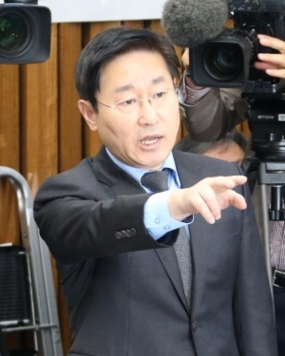 더불어민주당 박범계 의원. [중앙포토]