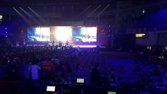 31일 서울 장충체육관에서 자유한국당 대선후보 선출 전당대회가 열렸다