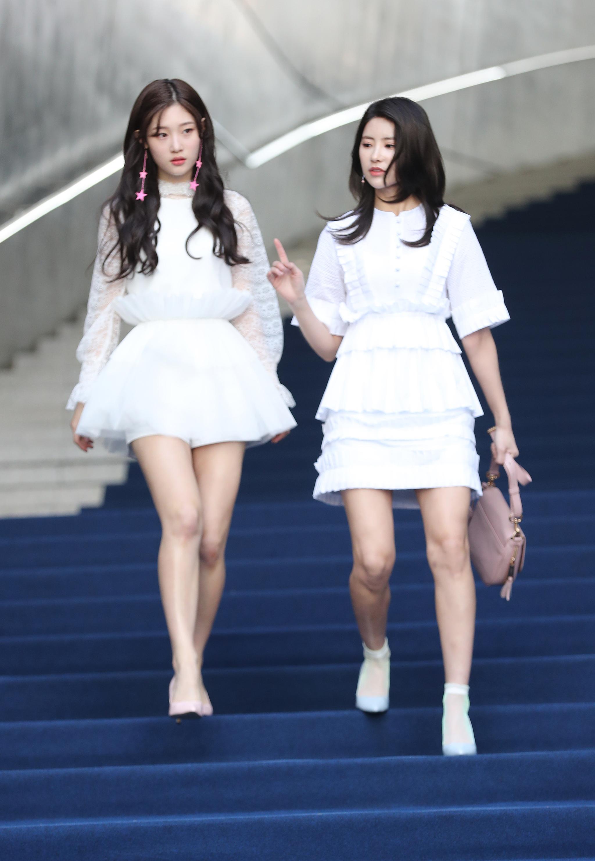[포토]정채연 기희현, 요정들의 패션쇼장