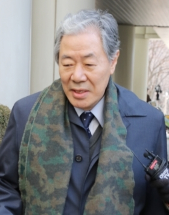 최순실씨의 변호인 이경재 변호사. 이승환 기자