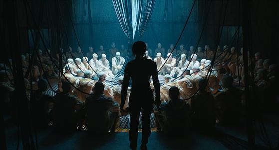 공각기동대:고스트 인 더 쉘 스틸 Ghost in the Shell from Paramount Pictures and DreamWorks Pictures in theaters March 31, 2017. [사진=파라마운트 픽쳐스]