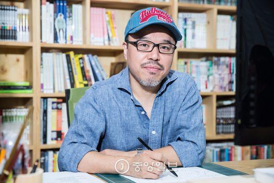 윤태호 작가 [중앙포토]