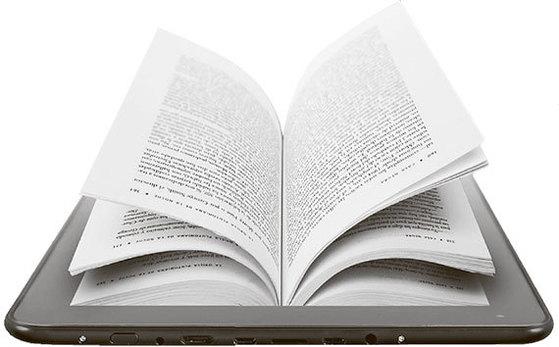 종이 책 전자 책