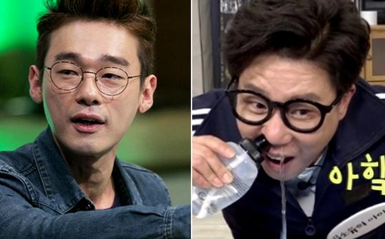허지웅 미운우리새끼 하차. 허지웅(왼쪽)과 이상민.[사진 JTBCㆍMBC 캡처]