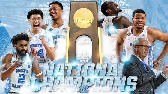 2017 NCAA 남자농구선수권에서 우승한 노스캐롤라이나대 [사진 NCAA 페이스북]