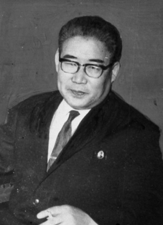 박성철 북한 전 총리 [사진=중앙포토]
