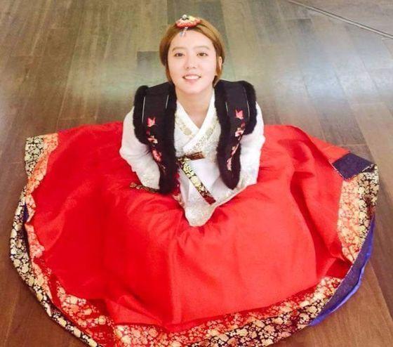 홍가혜는 최근 자신의 SNS에 결혼 소식을 알렸다. 상대방은 목사 아들로 알려졌다. [사진 = 홍가혜 페이스북 사진]