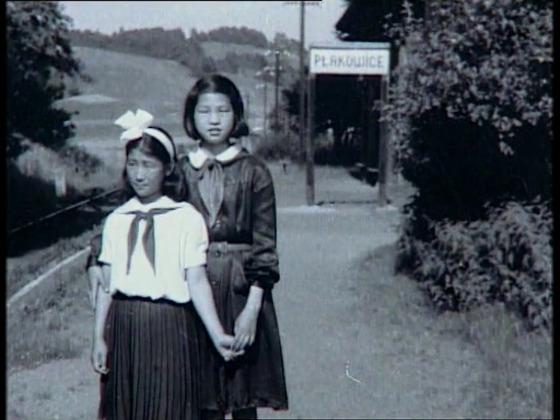 영화 속에 등장하는 폴란드에서 생활하는 북한 고아들의 모습. [사진 계명대]