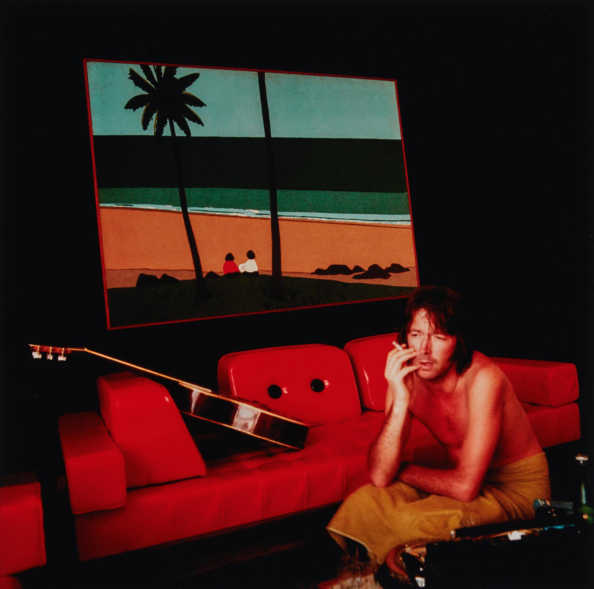 조지 해리슨과 불화가 심하던 시기인 1974년. 패티 보이드는 에릭 클랩튼의 투어에 따라나선다. 에릭 클랩튼과의 첫 투어였다. 당시 패티 보이드가 찍은 에릭 클랩튼의 사진으로 호텔과 장소는 기억나지 않지만 선명한 컬러는 사진 속에 남아있다. [사진 패티보이드]