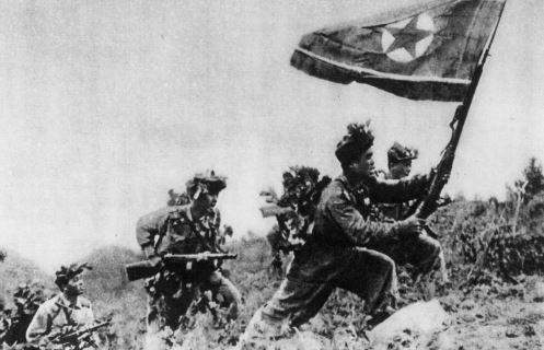 1950년 남침하는 북한군 [사진 중앙포토]