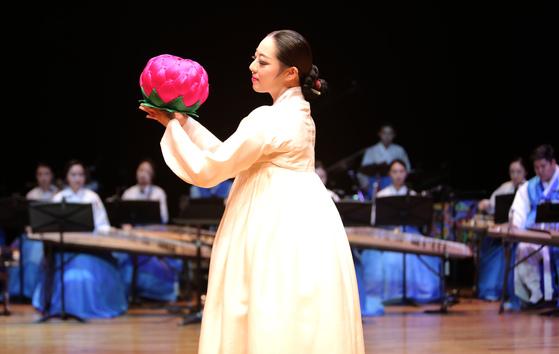 9일 열린 락음국악단의 국악뮤지컬 '효녀 심청'.