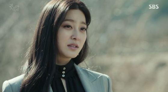 드라마 '귓속말'에서 대형 로펌 대표의 딸 최수연 역을 맡은 배우 박세영.